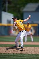 Erie SeaWolves pitcher Nolan Blackwood (36) during an Eastern League game against the Altoona Curve and on June 4, 2019 at UPMC Park in Erie, Pennsylvania.  Altoona defeated Erie 3-0.  (Mike Janes/Four Seam Images)