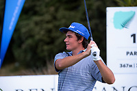 Joshua Cassin. Day one of the Renaissance Brewing NZ Stroke Play Championship at Paraparaumu Beach Golf Club in Paraparaumu, New Zealand on Thursday, 18 March 2021. Photo: Dave Lintott / lintottphoto.co.nz