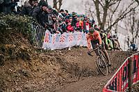 Mathieu van der Poel (NED/Corendon-Circus)<br /> <br /> Elite Men's Race<br /> UCI CX Worlds 2018<br /> Valkenburg - The Netherlands