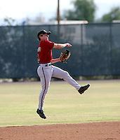 David Cooper / Arizona Diamondbacks 2008 Instructional League..Photo by:  Bill Mitchell/Four Seam Images