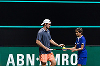 Rotterdam, The Netherlands, 4 march  2021, ABNAMRO World Tennis Tournament, Ahoy, Second round match: Tommy Paul (USA).<br /> Photo: www.tennisimages.com/