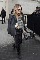 Vanessa Paradis - Show Chanel - Paris Fashion Week Haute Couture Spring-Summer 2017 - 24 janvier 2017 - FRANCE