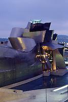 Spanien, Baskenland , Guggenheimmuseum von Frank O. Gehry in Bilbao