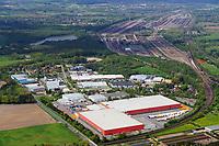 Rewe Ligistik Stelle: EUROPA, DEUTSCHLAND, NIEDERSACHSEN, StELLE  (EUROPE, GERMANY), 11.05.2013: Rewe Ligistik Stelle dahinter der Verschiebebahnhof Maschen