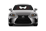 Car photography straight front view of a 2017 Lexus IS 350 4 Door Sedan Front View