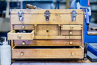 Wooden toolbox or tool Chest