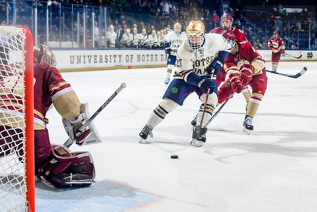 December 8, 2019; Hockey vs BC (Photo by Matt Cashore/University of Notre Dame)