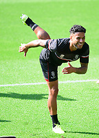Lincoln City's Liam Bridcutt during the pre-match warm-up<br /> <br /> Photographer Chris Vaughan/CameraSport<br /> <br /> The EFL Sky Bet League One - Milton Keynes Dons v Lincoln City - Saturday 19th September 2020 - Stadium MK - Milton Keynes<br /> <br /> World Copyright © 2020 CameraSport. All rights reserved. 43 Linden Ave. Countesthorpe. Leicester. England. LE8 5PG - Tel: +44 (0) 116 277 4147 - admin@camerasport.com - www.camerasport.com