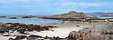Fidden, Ross of Mull, Isle of Mull, Scotland, UK. Digitally stitched panorama.