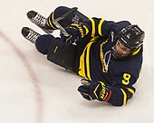 Jace Hennig (Merrimack - 9) - The visiting Merrimack College Warriors defeated the Boston University Terriers 4-1 to complete a regular season sweep on Friday, January 27, 2017, at Agganis Arena in Boston, Massachusetts.The visiting Merrimack College Warriors defeated the Boston University Terriers 4-1 to complete a regular season sweep on Friday, January 27, 2017, at Agganis Arena in Boston, Massachusetts.