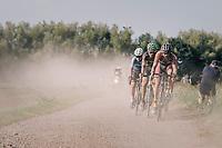 Rob Peeters (BEL/Pauwels sauzen-Vastgoedservice) sucking dust<br /> <br /> 92nd Schaal Sels 2017 <br /> 1 Day Race: Merksem > Merksem (188km)