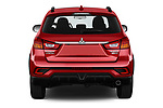 Straight rear view of a 2019 Mitsubishi ASX Black Collection 5 Door SUV stock images