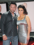 Jennie Farley aka J Woww and Roger Mathews at  The L.A. Premiere of The Three Stooges - The Movie held at The Grauman's Chinese Theatre in Hollywood, California on April 07,2012                                                                               © 2012 Hollywood Press Agency