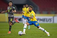 4th June 2021; Beira-Rio Stadium, Porto Alegre, Brazil; Qatar 2022 qualifiers; Brazil versus Ecuador; Neymar of Brazil breaks into attack
