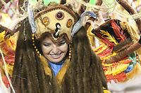 SÃO PAULO, SP, 09.03.2019 - CARNAVAL-SP - Integrantes da escola de samba Império de Casa Verde comemoram no desfile das campeãs do grupo especial de São Paulo na noite deste sábado, 09. (Foto: Nelson Gariba/Brazil Photo Press)
