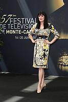 BREWSTER Paget - Photocall 'SOMEWHERE BETWEEN' - 57ème Festival de la Television de Monte-Carlo. Monte-Carlo, Monaco, 19/06/2017.