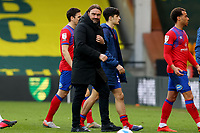 20th March 2021; Carrow Road, Norwich, Norfolk, England, English Football League Championship Football, Norwich versus Blackburn Rovers; A dejected Norwich City Manager Daniel Farke after the 1-1 draw