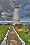 Light house Cape Willoughby Kangaroo Island south Australia lightly over cast day lovely light kangaroo Island