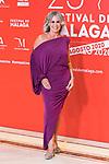 Miriam Diaz Aroca attends the photocall of Malaga Film Festival 2020. August 28, 2020. (Alterphotos/Francis González)