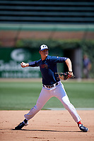 Coby Mayo (11) during the Under Armour All-America Game, powered by Baseball Factory, on July 22, 2019 at Wrigley Field in Chicago, Illinois.  Coby Mayo attends Stoneman Douglas High School in Coral Springs, Florida and is committed to the University of Florida.  (Mike Janes/Four Seam Images)