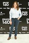 """Nora Navas attend the Presentation of """"Happy 140"""" (Felices 140) Movie at Eurobuilding Hotel, Madrid,  Spain. April 07, 2015.(ALTERPHOTOS/)Carlos Dafonte)"""