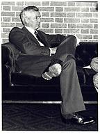 Paul Desmarais, Power Corporation, 17 octobre 1978<br /> <br /> PHOTO : JJ Raudsepp  - Agence Quebec presse