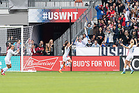 Houston, TX - Sunday April 08, 2018: Carli Lloyd during an International Friendly soccer match between the USWNT and Mexico at BBVA Compass Stadium.