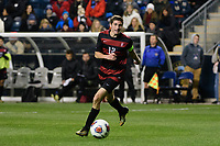 Chester, PA - Friday December 08, 2017: Drew Skundrich The Stanford Cardinal defeated the Akron Zips 2-0 during an NCAA Men's College Cup semifinal match at Talen Energy Stadium.