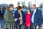 Danny Healy-Rae meets Mary and Eileen Buckley Clonkeen on the canvassing trail in Killarney on Monday with Kerrys Eye reporter David Byrne