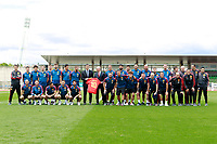 The President of the Government of Spain Pedro Sanchez in presence of RFEF's President Luis Rubiales visits the national soccer team training session. June 5,2018.(ALTERPHOTOS/Acero) /NortePhoto.com NORTEPHOTOMEXICO