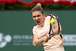 Simona Halep (ROU) defeated Qiang Wang (CHN)