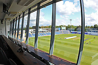 A view from the Media Centre ahead of Glamorgan CCC vs Essex CCC, Specsavers County Championship Division 2 Cricket at the SSE SWALEC Stadium on 23rd May 2016