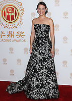HOLLYWOOD, LOS ANGELES, CA, USA - JUNE 01: Actress Lucy Liu in the press room at the 12th Annual Huading Film Awards held at the Montalban Theatre on June 1, 2014 in Hollywood, Los Angeles, California, United States. (Photo by Xavier Collin/Celebrity Monitor)