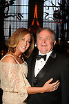 Lee Ann O'Neil and T.J. Casper at the SPA's Forever Paris Gala at the Wortham Theater Saturday March 29, 2014.(Dave Rossman photo)