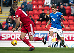 St Johnstone v Aberdeen…15.09.18…   McDiarmid Park     SPFL<br />Ross Callachan makes his saints debut<br />Picture by Graeme Hart. <br />Copyright Perthshire Picture Agency<br />Tel: 01738 623350  Mobile: 07990 594431
