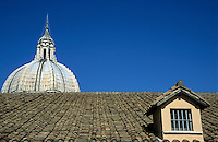 Dome of St Peter's Basilica, Vatican City, Rome, Italy.