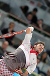 Stan Wawrinka during Madrid Open Tennis 2015 match.May, 5, 2015.(ALTERPHOTOS/Acero)