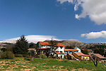 Golan Heights, Neve Ativ at the foothill of Mount Hermon