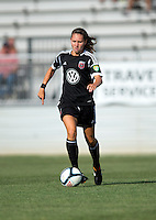 Katie Yensen.  The D.C. United Women defeated the Charlotte Lady Eagles, 3-0, to win the W-League Eastern Conference Championship.
