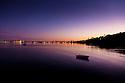 Boats at evening