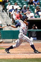 Matt Kata -  Round Rock Express playing against the Sacramento RiverCats at Raley Field, Sacramento, CA - 05/19/2009.Photo by:  Bill Mitchell/Four Seam Images