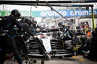 11th October 2020, Nuerburgring, Nuerburg, Germany; FIA Formula 1 Eifel Grand Prix, Race Day;  63 George Russell GBR, Williams Racing