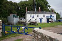 Lydney Yacht Club building, Gloucestershire.