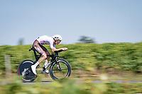 Aurélien Paret-Peintre (FRA/AG2R Citroën)<br /> <br /> Stage 20 (ITT) from Libourne to Saint-Émilion (30.8km)<br /> 108th Tour de France 2021 (2.UWT)<br /> <br /> ©kramon