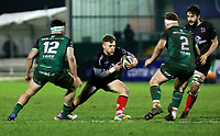 27th December 2020 | Connacht  vs Ulster <br /> <br /> Ian Madigan is tackled by Tom Daly and Shane Delahunt during the Guinness PRO14 match between Connacht and Ulster at The Sportsground in Galway. Photo by John Dickson/Dicksondigital