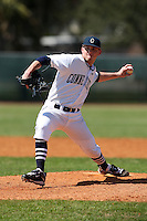 February 28, 2010:  Pitcher Ted Hurvul of the University of Connecticut Huskies during the Big East/Big 10 Challenge at Raymond Naimoli Complex in St. Petersburg, FL.  Photo By Mike Janes/Four Seam Images