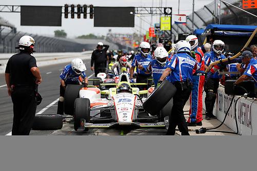 Verizon IndyCar Series<br /> Indianapolis 500 Carb Day<br /> Indianapolis Motor Speedway, Indianapolis, IN USA<br /> Friday 26 May 2017<br /> Ed Jones, Dale Coyne Racing Honda<br /> World Copyright: Michael L. Levitt<br /> LAT Images