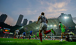 Russia play the Cook Islands on Day 1 of the Cathay Pacific / HSBC Hong Kong Sevens 2013 at Hong Kong Stadium, Hong Kong. Photo by Victor Fraile / The Power of Sport Images