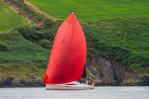 Frank Doyle's J112 Cara finished in third place in SCORA's Kinsale to Baltimore Race