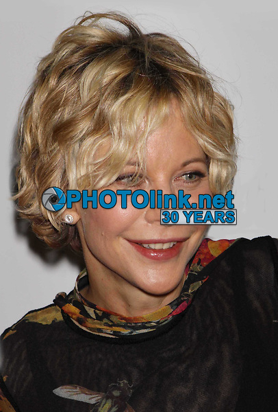 Meg Ryan, 12-3-09, Photo By John Barrett/PHOTOlink